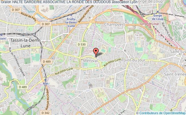 plan association Halte Garderie Associative La Ronde Des Doudous