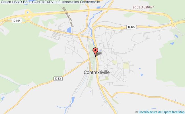 plan association Hand-ball Contrexeville Contrexéville
