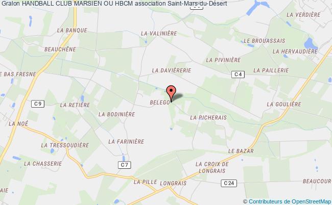 plan association Handball Club Marsien Ou Hbcm