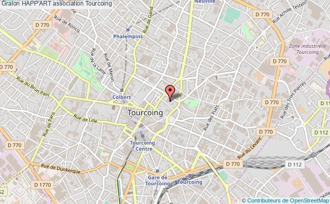 plan association Happ'art Tourcoing