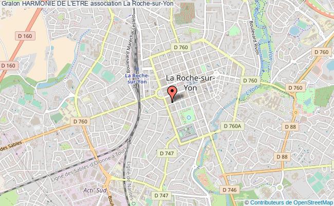 plan association Harmonie De L'etre La Roche-sur-Yon