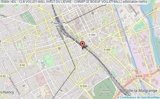 plan association Hdl - Clb Volley-ball (haut Du Lievre - Champ Le Boeuf Volley-ball)