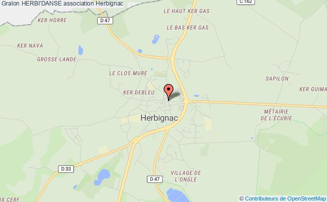 plan association Herbi'danse Herbignac