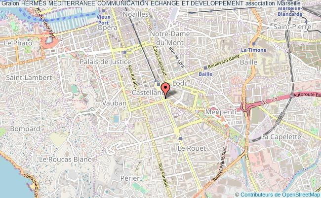 plan association Hermes Mediterranee Communication Echange Et Developpement