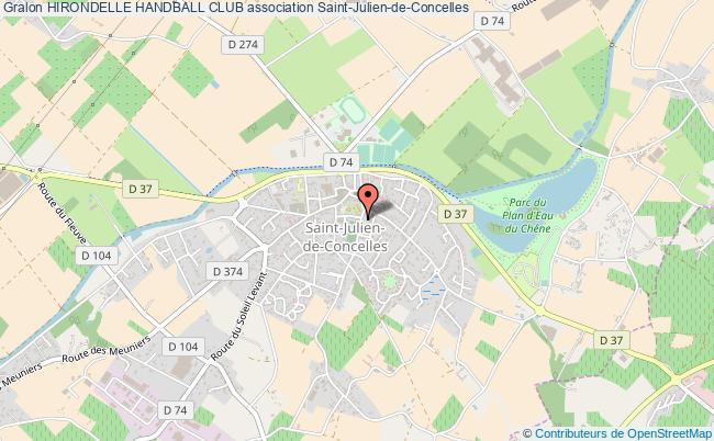 plan association Hirondelle Handball Club