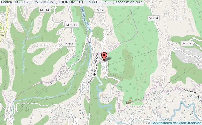 plan association Histoire, Patrimoine, Tourisme Et Sport (h.p.t.s.) Nice