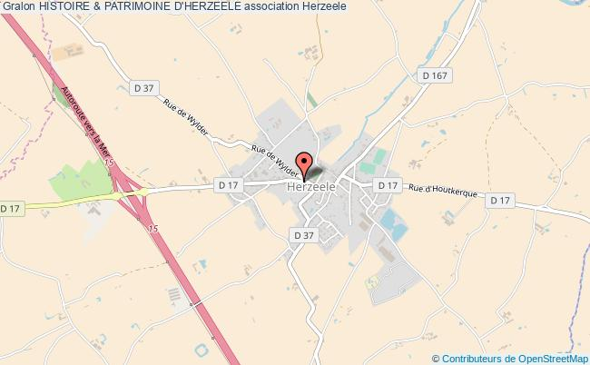 plan association Histoire & Patrimoine D'herzeele