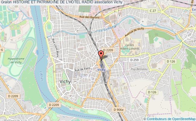 plan association Histoire Et Patrimoine De L'hotel Radio