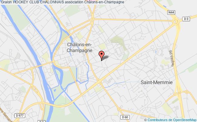 plan association Hockey Club Chalonnais