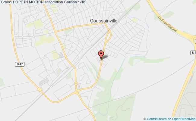plan association Hope Collectif Goussainville