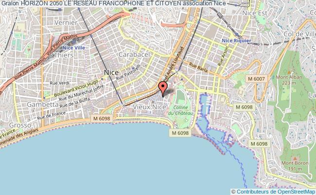 plan association Horizon 2050 Le Reseau Francophone Et Citoyen