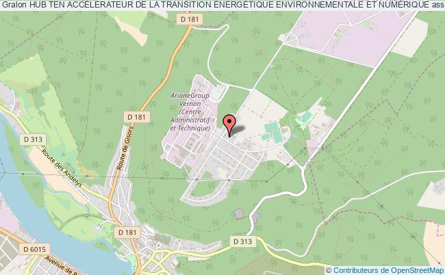 plan association Hub Ten AccÉlÉrateur De La Transition ÉnergÉtique Environnementale Et NumÉrique