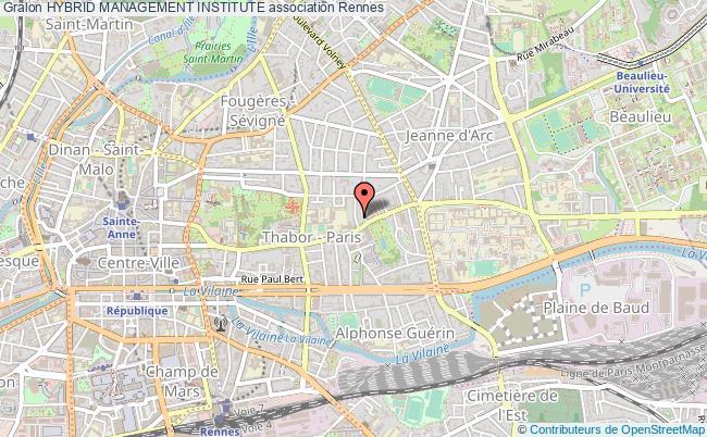 plan association Hybrid Management Institute Rennes