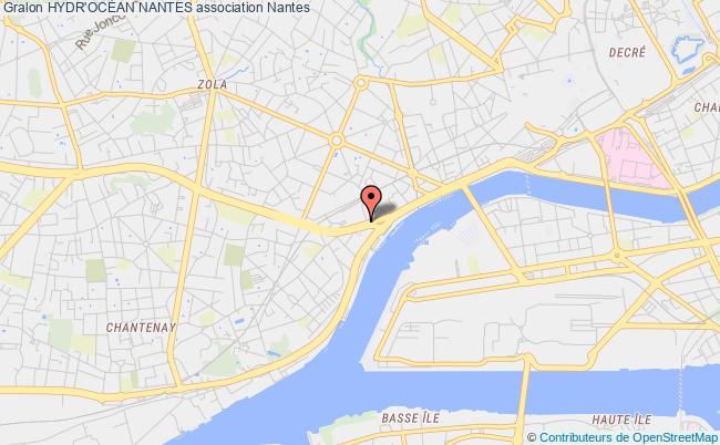 plan association Hydr'ocÉan Nantes