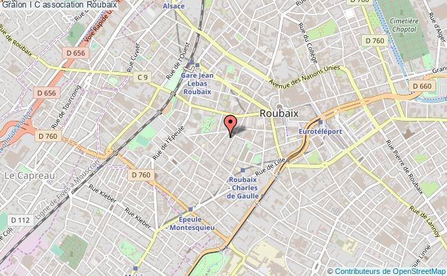 plan association I+c Roubaix