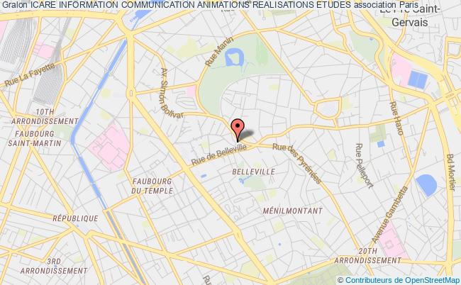 plan association Icare Information Communication Animations Realisations Etudes