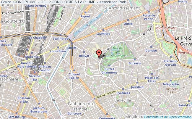 plan association Iconoplume « De L?iconologie À La Plume »