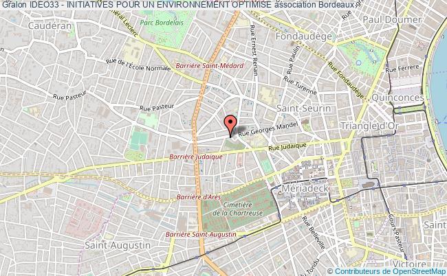 plan association Ideo33 - Initiatives Pour Un Environnement Optimise