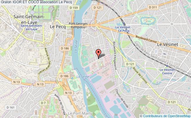 plan association Igor Et Coco le Pecq