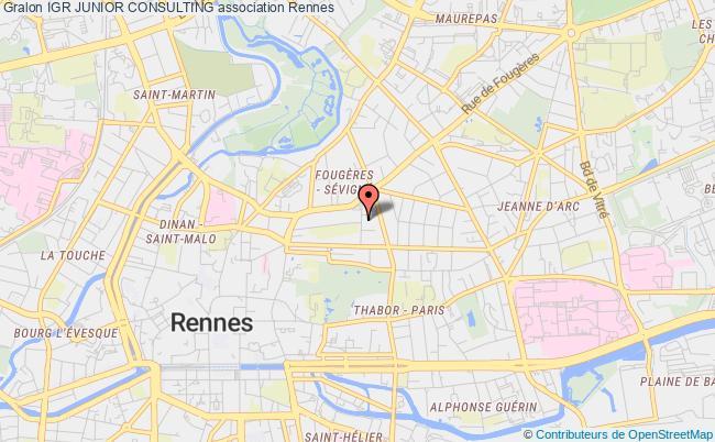 plan association Igr Junior Consulting Rennes