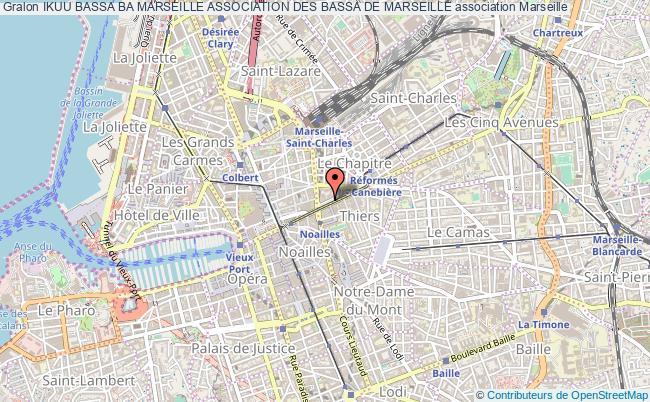 plan association Ikuu Bassa Ba Marseille Association Des Bassa De Marseille