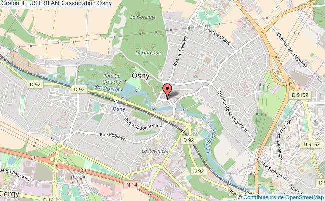plan association Illustriland Osny