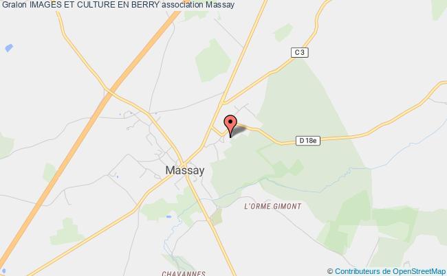 plan association Images Et Culture Du Coeur De France Massay