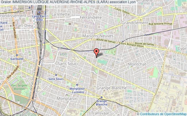 plan association Immersion Ludique Auvergne-rhÔne-alpes (ilara)
