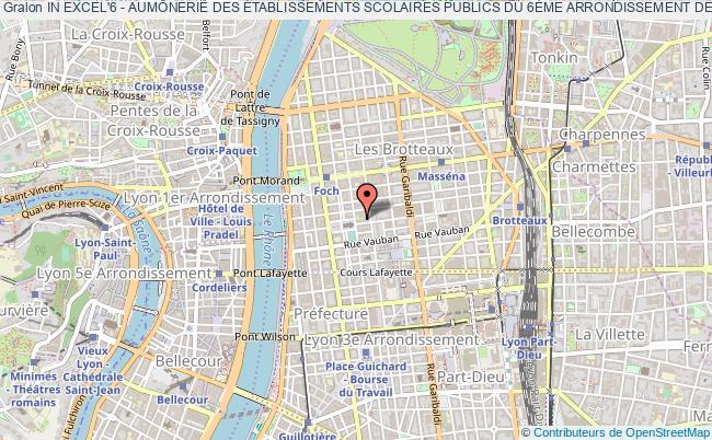 plan association In Excel'6 - AumÔnerie Des Établissements Scolaires Publics Du 6Ème Arrondissement De Lyon