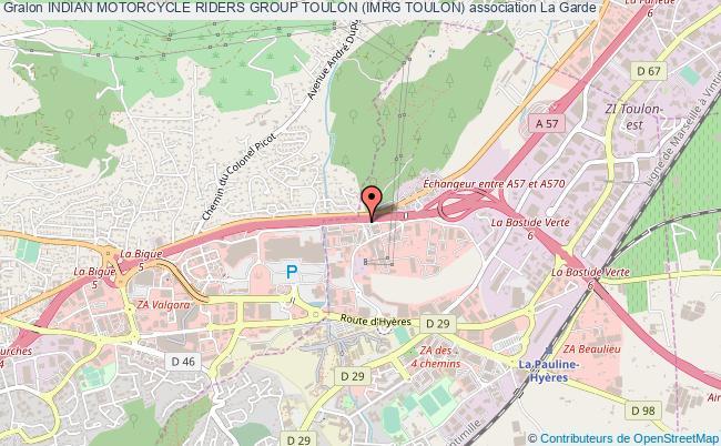 plan association Indian Motorcycle Riders Group Toulon (imrg Toulon)