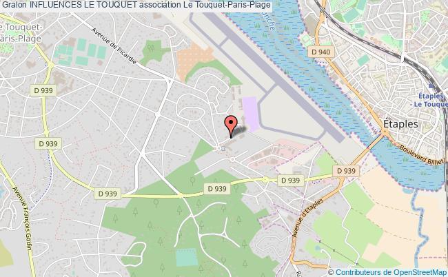 plan association Influences Le Touquet Le    Touquet-Paris-Plage