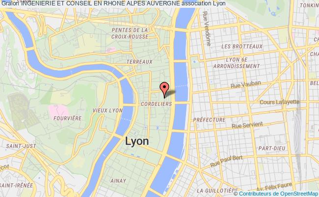 plan association Ingenierie Et Conseil En Rhone Alpes Auvergne Lyon 2
