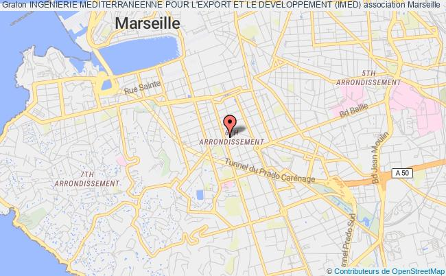plan association Ingenierie Mediterraneenne Pour L'export Et Le Developpement (imed) Marseille