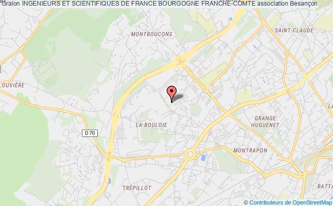 plan association Ingenieurs Et Scientifiques De France Franche-comte (iesf-fc)