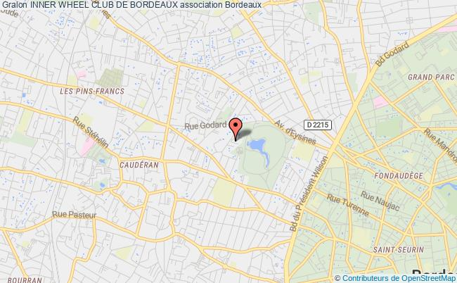 plan association Inner Wheel Club De Bordeaux Bordeaux