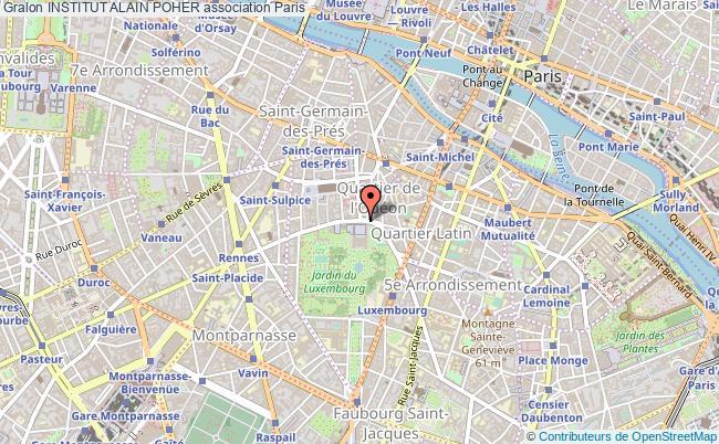 plan association Institut Alain Poher Paris