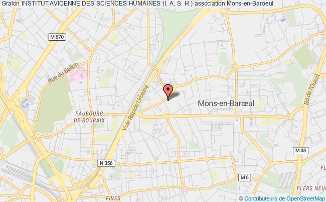 plan association Institut Avicenne Des Sciences Humaines (i. A. S. H.)