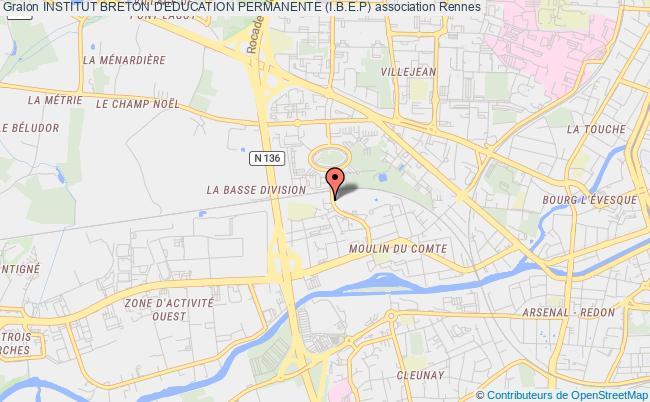 plan association Institut Breton D'education Permanente (i.b.e.p)