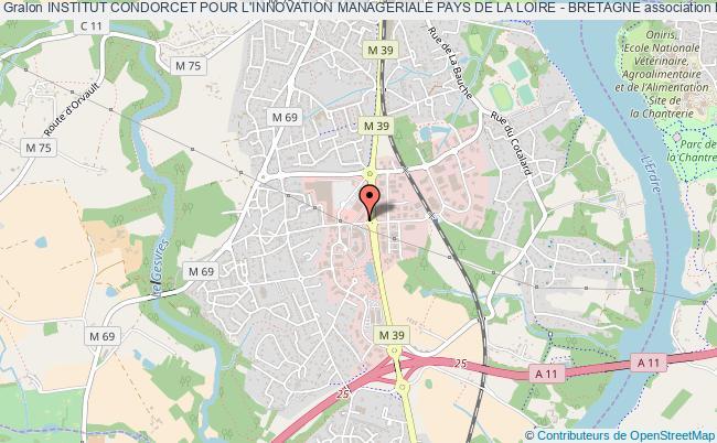plan association Institut Condorcet Pour L'innovation Manageriale Pays De La Loire - Bretagne