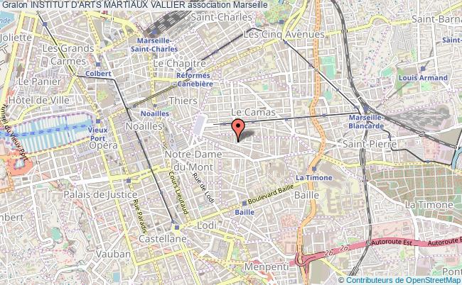 plan association Institut D'arts Martiaux Vallier