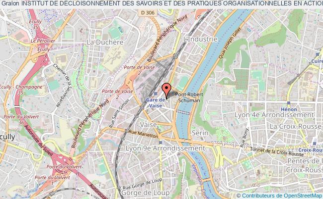 plan association Institut De DÉcloisonnement Des Savoirs Et Des Pratiques Organisationnelles En Action Sociale Et De SantÉ (is'poss)