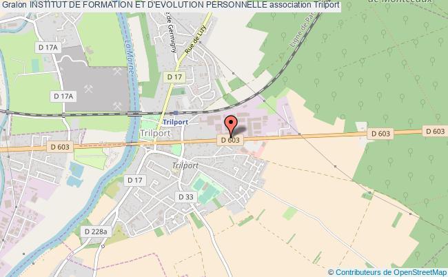 plan association Institut De Formation Et D'evolution Personnelle