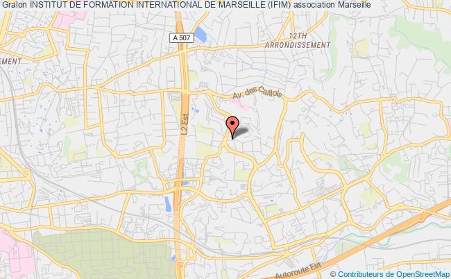 plan association Institut De Formation International De Marseille (ifim) Marseille