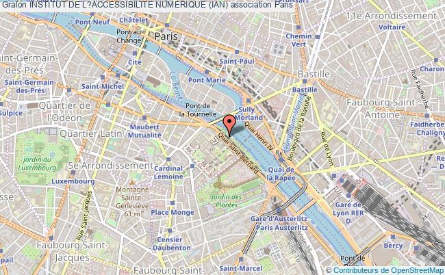 plan association Institut De L?accessibilite Numerique (ian)