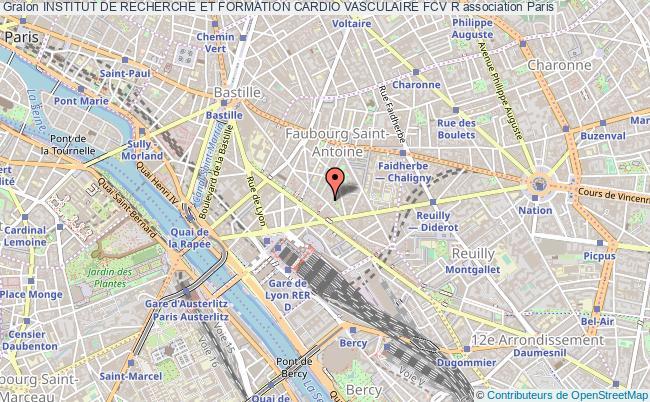 plan association Institut De Recherche Et Formation Cardio Vasculaire Fcv R Paris