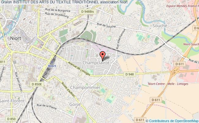 plan association Institut Des Arts Du Textile Traditionnel