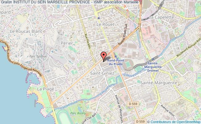 plan association Institut Du Sein Marseille Provence - Ismp