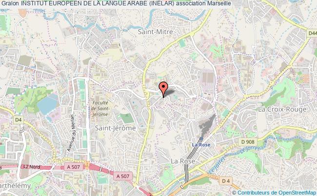 plan association Institut Europeen De La Langue Arabe (inelar) Marseille