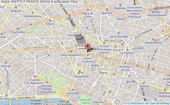 plan association Institut France Angola