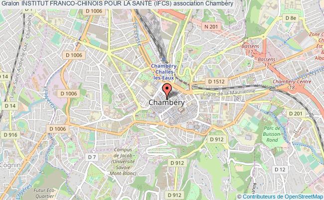 plan association Institut Franco-chinois Pour La SantÉ (ifcs)